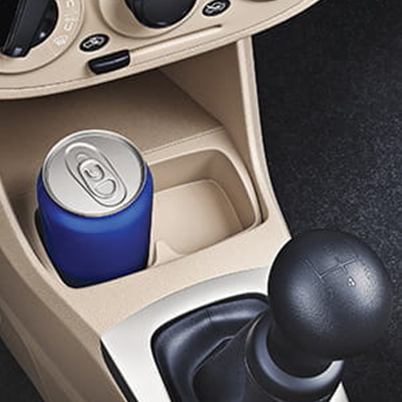 Front and Rear Console Bottle Holder