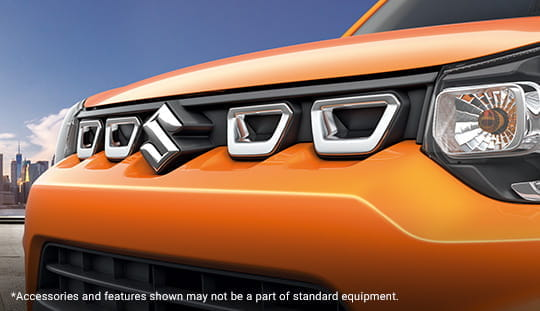 SUV-Inspired Bold Front Fascia