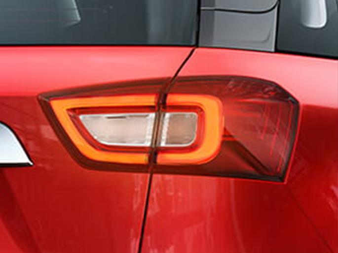 Distinct LED Tail Lights