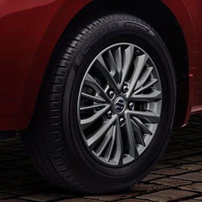 Multi Spoke Alloy Wheels