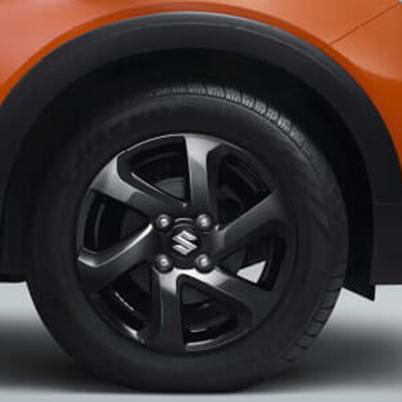 All Black Alloy Wheels
