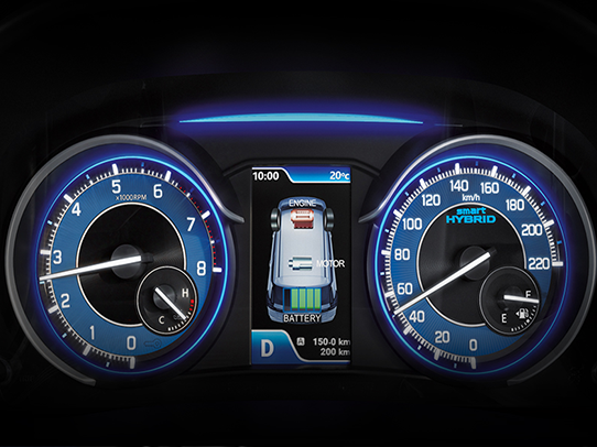 INSTRUMENT CLUSTER WITH TFT MID